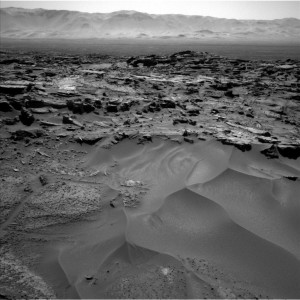 Curiosity Navcam Left B image taken on Sol 1276, March 9, 2016. Credit: NASA/JPL-Caltech