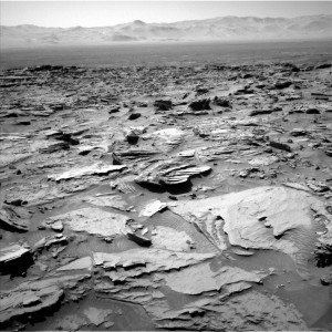 Curiosity Navcam Left B image taken on Sol 1283, March 16, 2016 Credit: NASA/JPL-Caltech