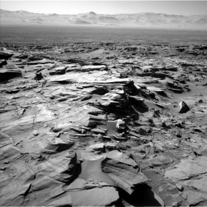 Image from Curiosity's Navcam Left B camera on Sol 1292, March 25, 2016. Image Credit: NASA/JPL-Caltech