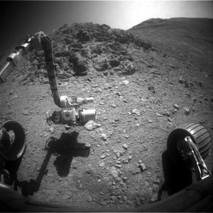 Opportunity image from Front Hazcam, Sol 4297. Credit: NASA/JPL-Caltech