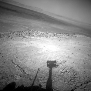 Scenic view from NASA's Opportunity rover. Credit: NASA/JPL-Caltech