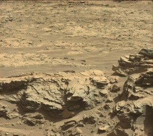 Curiosity Mastcam Left image taken on Sol 1301, April 3, 2016. Credit: NASA/JPL-Caltech/MSSS