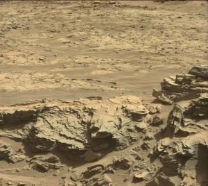 Curiosity Mastcam Left image taken on Sol 1301, April 3, 2016. Credit: NASA/JPL-Caltech/MSSS
