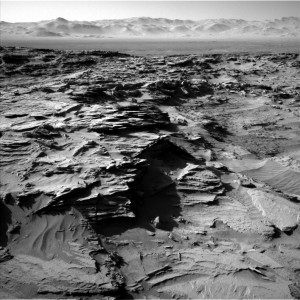 Curiosity Navcam Left B Sol image from Sol 1298, March 31, 2016. Credit: NASA/JPL-Caltech