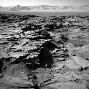 Curiosity Navcam Left B Sol image from Sol 1298, March 31, 2016. Credit: NASA/JPL-Caltech