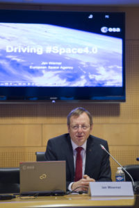 Johann-Dietrich Wörner, Director General of the European Space Agency (ESA). Credit: ESA–Stephane Corvaja, 2016