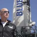 Rocketeer Jeff Bezos. Credit: Blue Origin