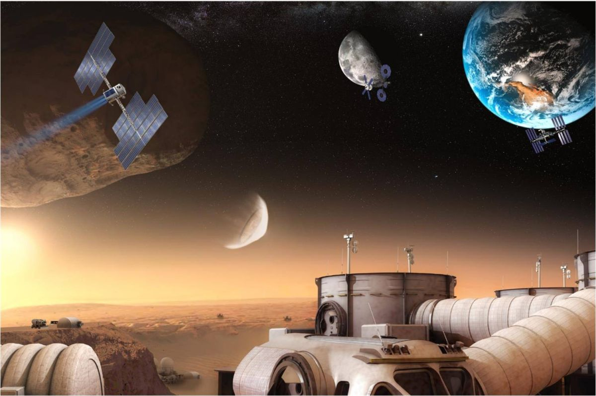 colonization of mars 1 describe where on mars you think would be the best place to establish a colony and why 2 explain what sources of energy you will use.