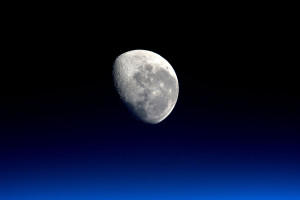 The Moon as seen from the International Space Station, taken by ESA British astronaut, Tim Peake. Credit: NASA/ESA