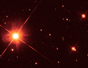 Proxima Centauri via Hubble Space Telescope. Credit: NASA, ESA, K. Sahu and J. Anderson (STScI), H. Bond (STScI and Pennsylvania State University), M. Dominik (University of St. Andrews)