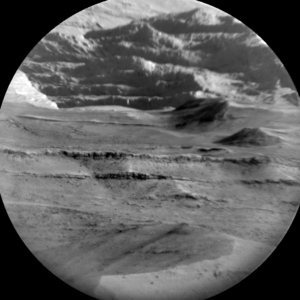 Chemistry and Camera (ChemCam) Remote Micro-Imager photo taken from NASA's Mars rover Curiosity on Sol 1356, May 30, 2016. Credit: NASA/JPL-Caltech/LANL