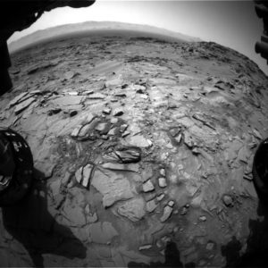 Curiosity Front Hazcam Left B image taken on Sol 1344, May 18, 2016. Credit: NASA/JPL-Caltech