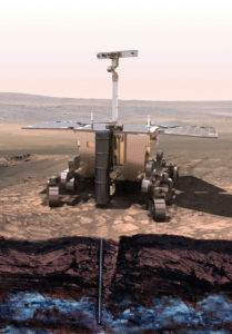 Europe's ExoMars 2020 rover. Credit: ESA
