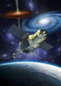 Japan's X-ray Astronomy Satellite ASTRO-H (Hitomi). Credit: JAXA