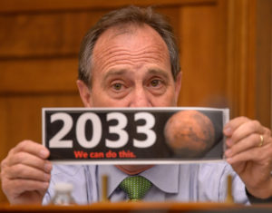 Colorado's U.S. Rep. Ed Perlmutter (CO-07), member of the House Science, Space, and Technology Committee. Credit: NASA/Bill Ingalls