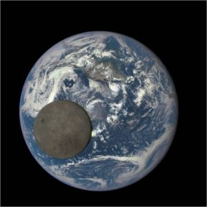 Moon's far side captured by NOAA's Deep Space Climate Observatory (DSCOVR). Credit: NOAA/NASA