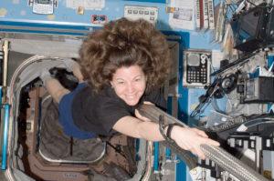 "NASA astronaut Catherine ""Cady"" Coleman. Credit: NASA"