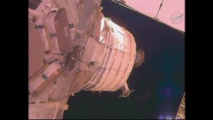 Efforts called off to fully-deploy Bigelow Expandable Activity Module (BEAM) from the ISS. Credit: NASA