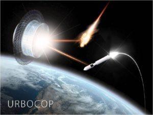 Universal Robotic Battle Cosmic Platform (URBOCOP). Credit: Igor Ashurbeyli