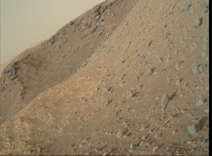NASA's Mars rover Curiosity acquired this image using its Mars Hand Lens Imager (MAHLI), located on the turret at the end of the rover's robotic arm, on June 17, 2016, Sol 1373. Credit: NASA/JPL-Caltech/MSSS