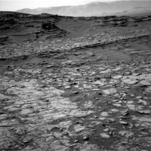 Curiosity Navcam Left B image taken on Sol 1383, June 27, 2016. Credit: NASA/JPL-Caltech