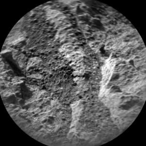 Image taken by Curiosity's ChemCam: Remote Micro-Imager on Sol 1383, June 27, 2016. Credit: NASA/JPL-Caltech/LANL