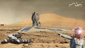 Mars Research Facility by Matt Jennings.