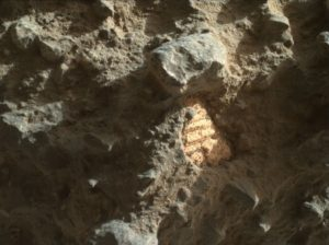 Curiosity Mars Hand Lens Imager (MAHLI) image taken on July 26, 2016, Sol 1411. Credit: NASA/JPL-Caltech/MSSS