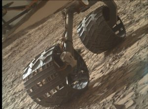 Mars Hand Lens Imager (MAHLI) image taken on Sol 1417, July 31, 2016. MAHLI is located on the turret at the end of the rover's robotic arm. Credit: NASA/JPL-Caltech/MSSS