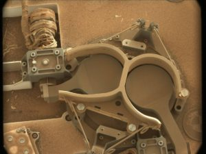 Dusty environment of Mars. Curiosity Mastcam Left image taken on Sol 1409, July 24, 2016. Credit: NASA/JPL-Caltech/MSSS