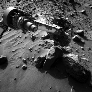 Curiosity Navcam Left B image taken on Sol 1407, July 21, 2016. Credit: NASA/JPL-Caltech