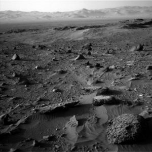 Curiosity Navcam Left B image taken on Sol 1405, July 19, 2016. Credit: NASA/JPL-Caltech