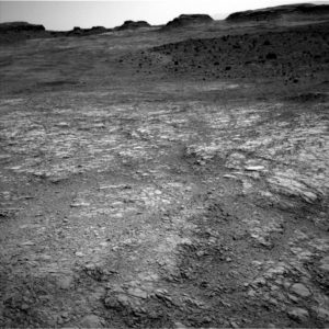 This image was taken by Curiosity's Navcam: Left B on Sol 1398, July 12, 2016. Credit: NASA/JPL-Caltech