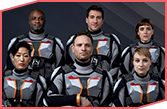 Miniseries features international crew destined for Mars. Credit: National Geographic, Imagine,RadicalMedia