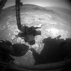 Opportunity image taken by rover's Front Hazcam on Sol 4461. Credit: NASA/JPL-Caltech