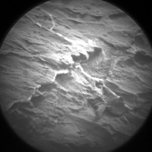 This image was taken by the Curiosity Chemistry & Camera's (ChemCam) Remote Micro-Imager on Sol 1441, August 25, 2016. Credit: NASA/JPL-Caltech/LANL