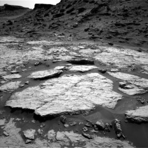 Curiosity Navcam Left B image taken on Sol 1432, August 16, 2016. Credit: NASA/JPL-Caltech