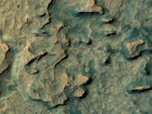 The base image from the map is from the High Resolution Imaging Science Experiment Camera (HiRISE) in NASA's Mars Reconnaissance Orbiter. Credit: NASA/JPL-Caltech/Univ. of Arizona