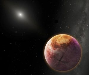 X marks the spot? Artist's conception of Planet X. Credit: Courtesy of Robin Dienel
