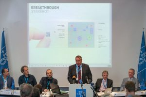 Pete Worden of Breakthrough Initiatives. Credit: ESO/M. Zamani