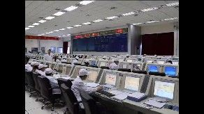 Launch crews complete a mock-run of the launch of China's second space lab. Credit: CCTV-Plus