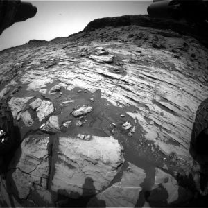 Curiosity Front Hazcam Right B image taken on Sol 1455, September 9, 2016. Credit: NASA/JPL-Caltech