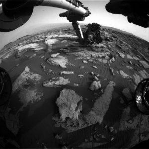 Curiosity Front Hazcam Right B image taken on Sol 1474, September 28, 2016. Credit: NASA/JPL-Caltech