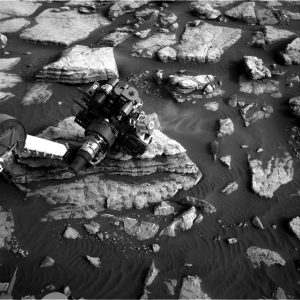 Curiosity Navcam Right B image taken on Sol 1474, September 28, 2016. Credit: NASA/JPL-Caltech