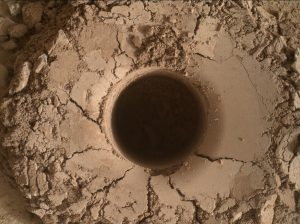 Mars Hand Lens Imager (MAHLI), located on the turret at the end of the rover