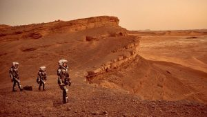 "Scene from ""Mars,"" a National Geographic Channel miniseries due to air in November. Credit: National Geographic, Imagine, RadicalMedia, Robert Viglasky"