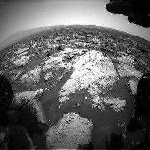 Curiosity Front Hazcam Right B image taken on Sol 1505, October 30, 2016. Credit: NASA/JPL-Caltech