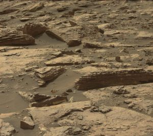 Curiosity Mastcam Left image taken on Sol 1487, October 12, 2016. Credit: NASA/JPL-Caltech/MSSS