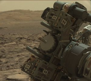 Curiosity's Mastcam Left image, taken on Sol 1495, October 20, 2016. Credit: NASA/JPL-Caltech/MSSS
