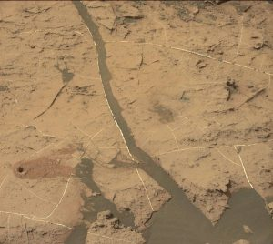 Curiosity's Mastcam Left image taken on Sol 1496, October 21, 2016. Credit: NASA/JPL-Caltech/MSSS